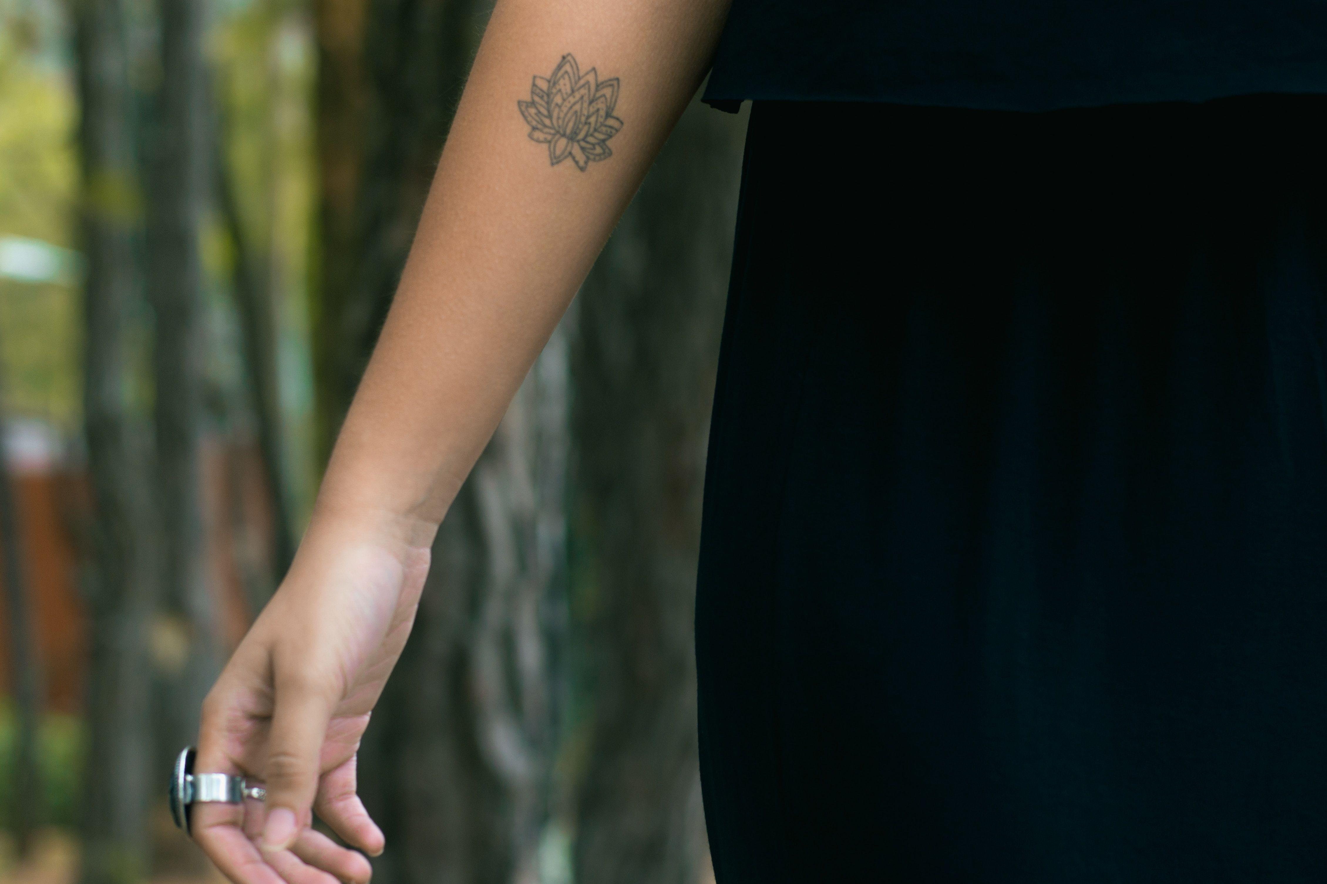 40 Lotus Flower Tattoo Ideas