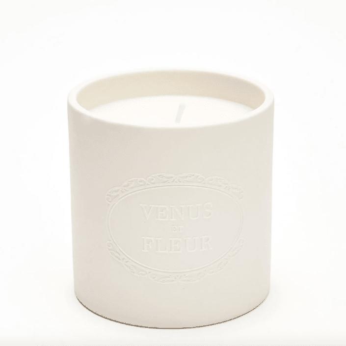 Venus ET Fleur Rose Blanche Candle