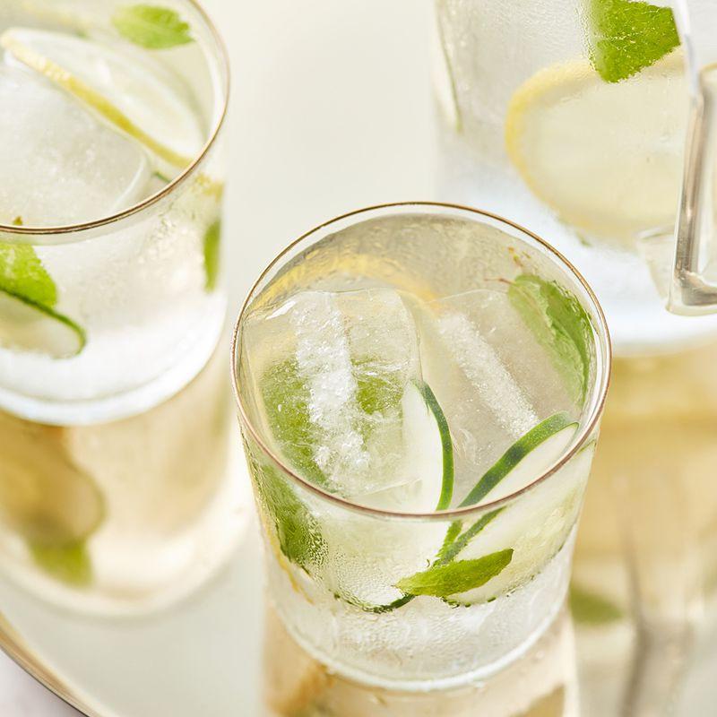 Cucumber, Lemon, Mint Water