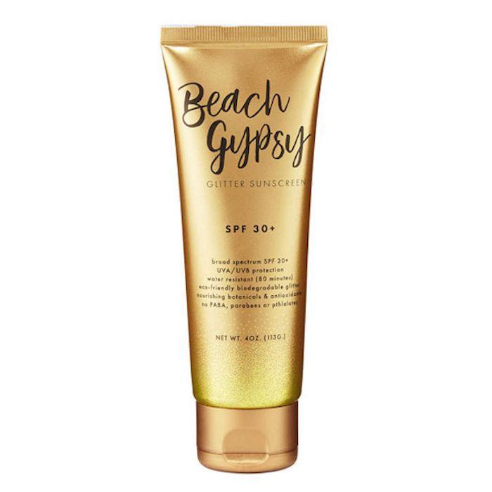 Sunshine & Glitter Beach Gypsy SPF 30+ Glitter Sunscreen