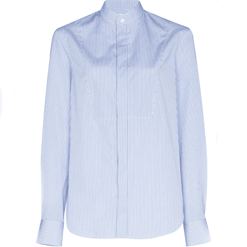 Wardrobe NYC Stripe Print Cotton Shirt