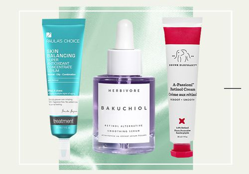 image with 3 different retinol products