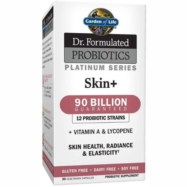 Garden of Life Dr. Formulated Probiotics Platinum Series Skin+