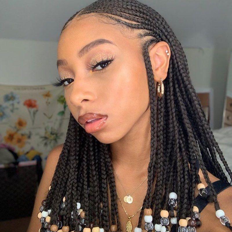 Goddess Braids Accent Braids