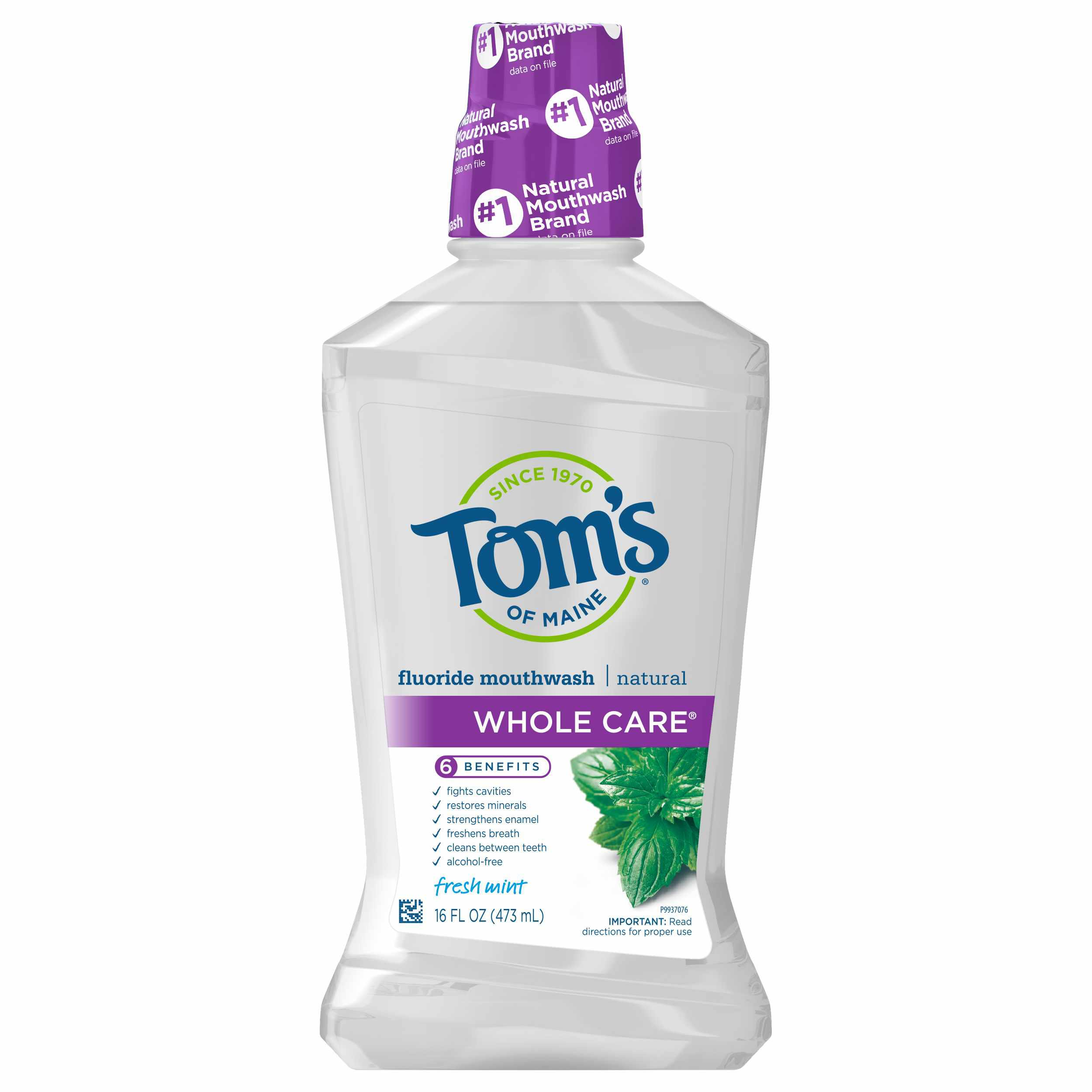 Tom's of Maine Natural Fluoride Mouthwash
