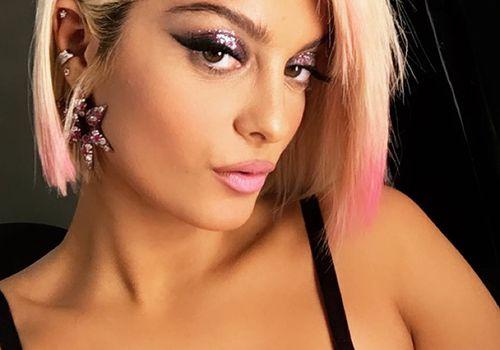 Bebe Rexha Asymmetrical Hair