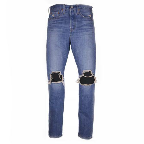 Levi's Wedgie Jeans Deconstructed Market Wash