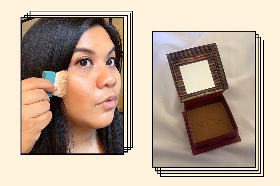 Benefit Hoola Bronzer on Juliane Veloso