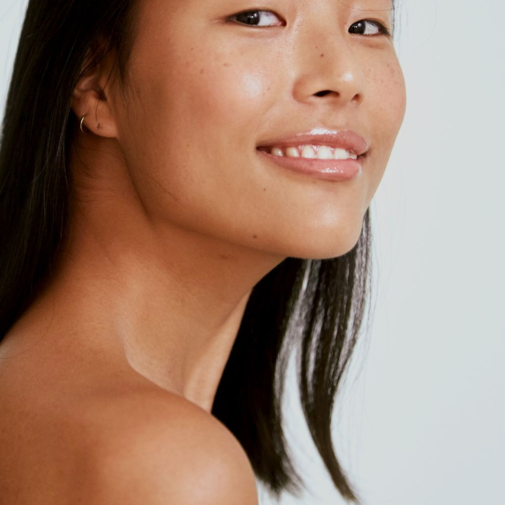 clear skin portrait