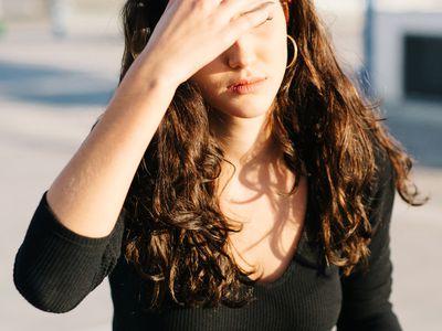 forehead acne