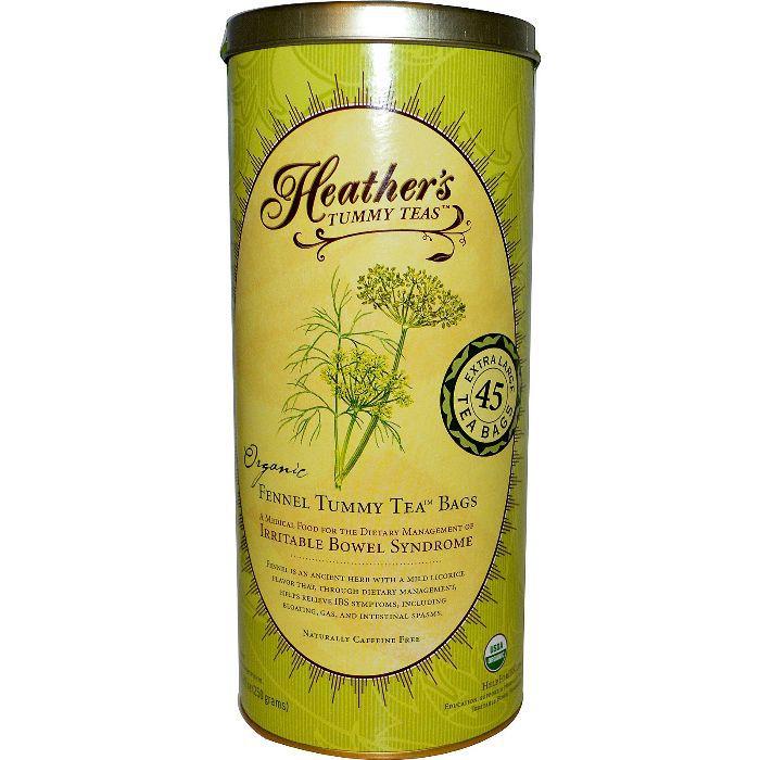 Heather's Tummy Teas Organic Fennel Teabags