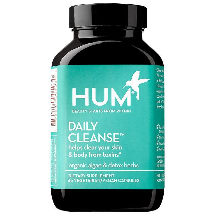 Daily Cleanse(TM) Clear Skin and Breakout Supplement 60 Capsules
