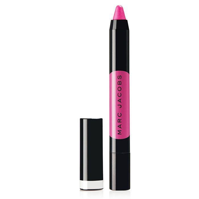 Best liquid lipstick: Marc Jacobs Le Marc Liquid Lip Crayon in Flaming-Oh!