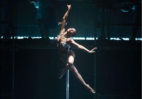 FKA Twigs pole dancing