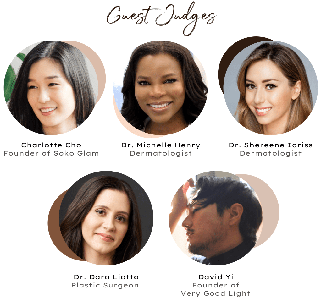 Guest judges for the 2019 Byrdie Skincare awards
