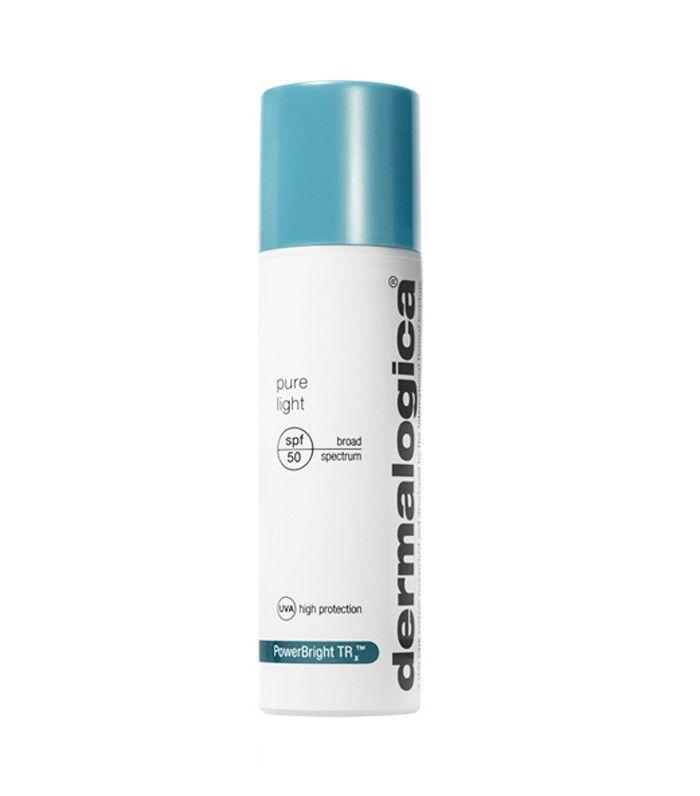 Best sunscreen for face: Dermalogica Pure Light SPF 50