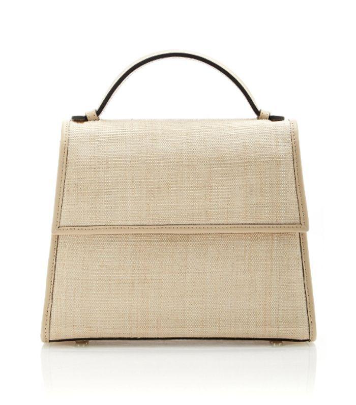 Medium Platano and Napa Top Handle Bag