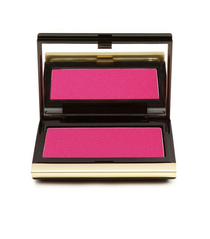 How to apply blush: Kevyn Aucoin The Creamy Glow in Liquifuchsia