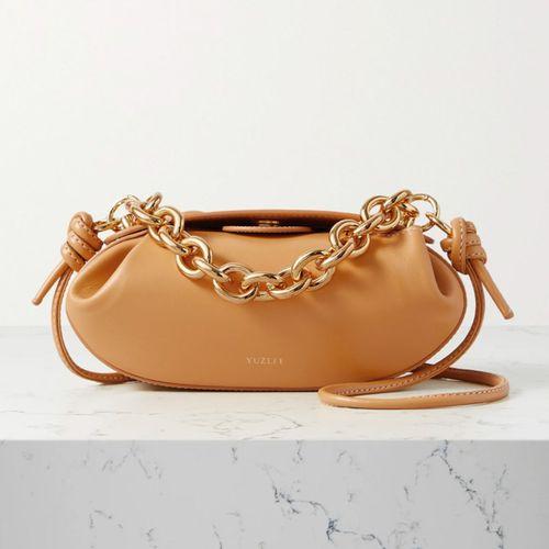 Leather Shoulder Bag ($435)