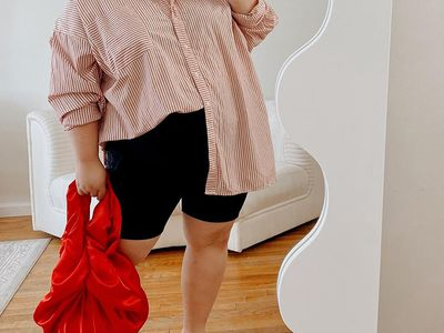 woman in workleisure outfit