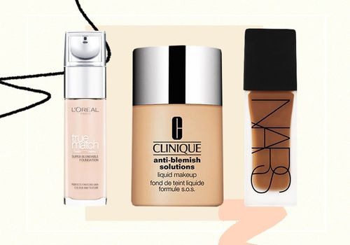 3 different foundations for acne-prone skin