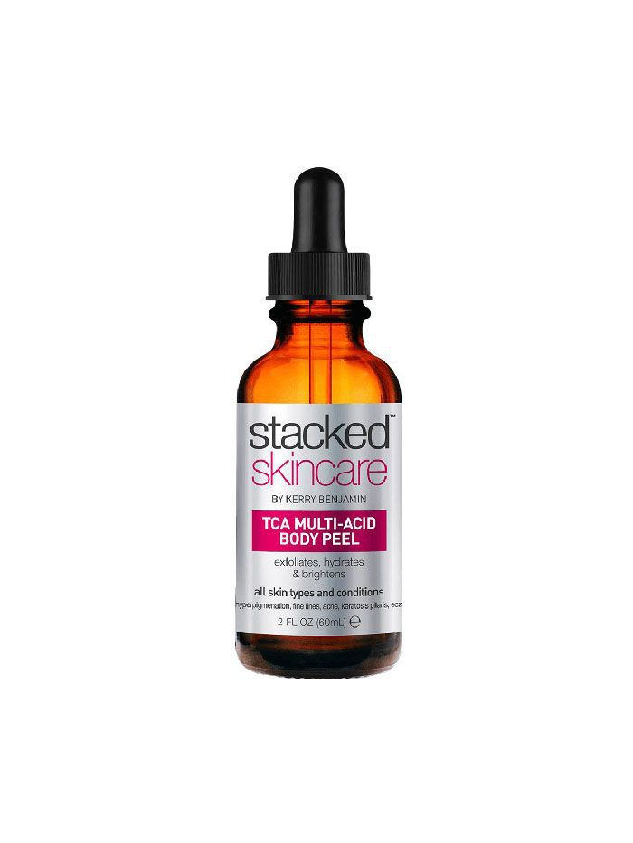 Stacked Skincare Multi-Acid Body Peel - Best Products for Keratosis Pilaris