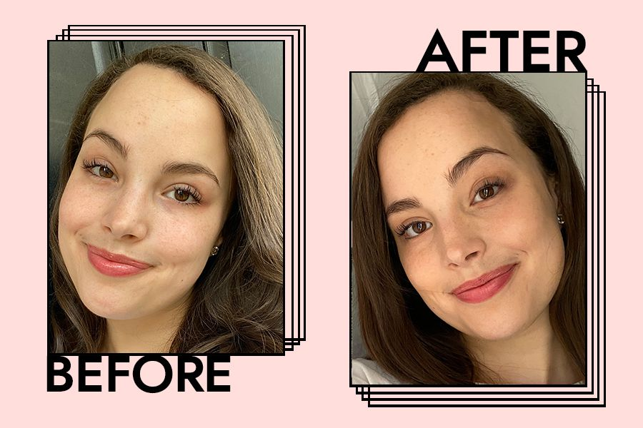 ysl touche eclat before and after