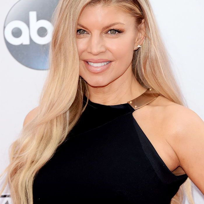fergie on a red carpet