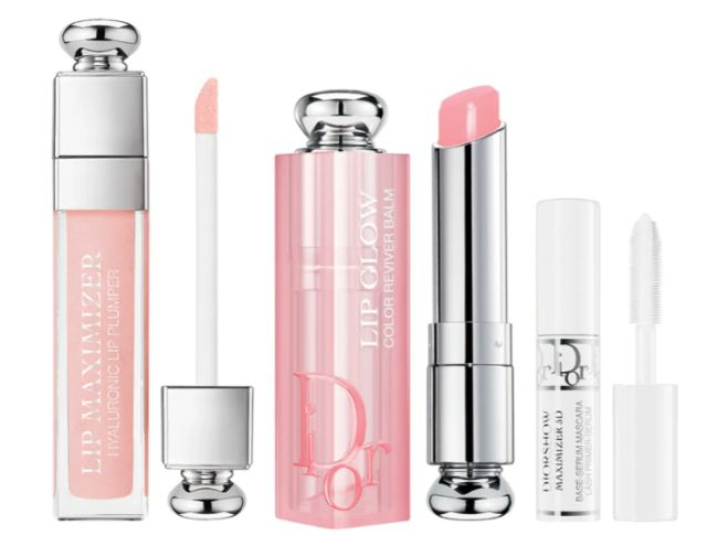 Dior Addict Lip Glow Lip Balm and Maximizer Plumping Lip Gloss Set