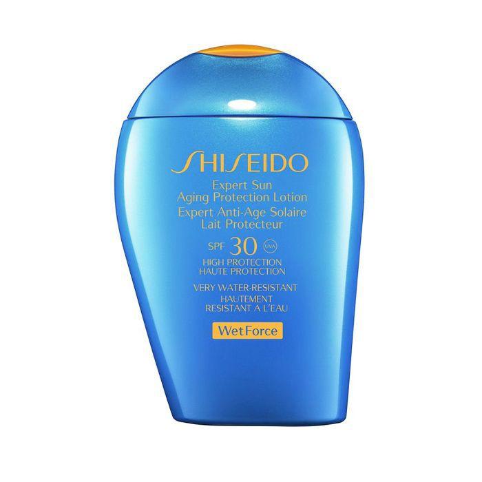 best sun cream: Shiseido Wet Force Expert Sun Aging Protection Lotion SPF30