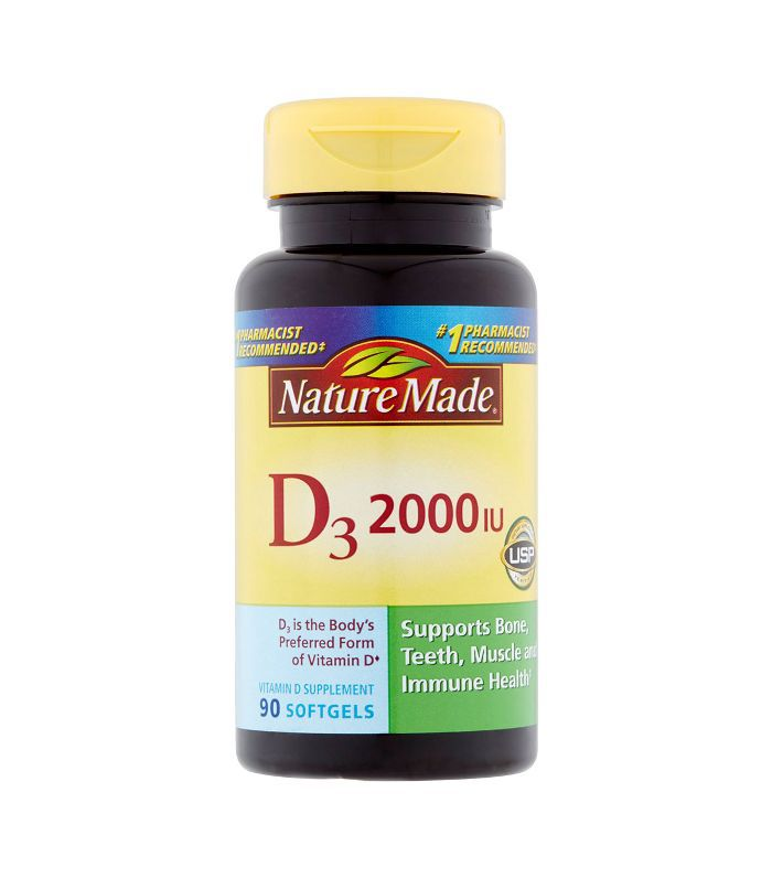 Nature Made Vitamin D3 5000 IU Ultra Strength Softgels