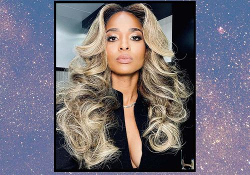 Farrah Fawcett Hair on Ciara