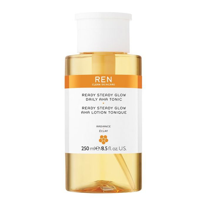 men's skincare: Ren Ready Steady Glow Daily AHA Tonic
