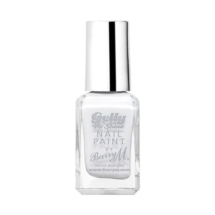 Barry M Gelly Hi-Shine Nail Paint in Cotton