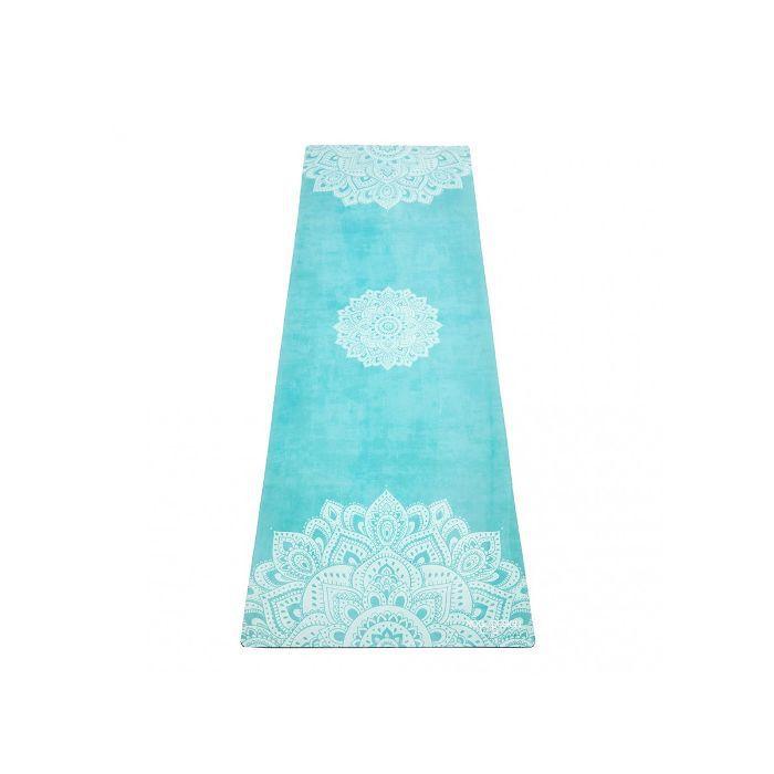 summer wellness trends: Yoga Design Lab Mandala Turquoise Commuter Mat