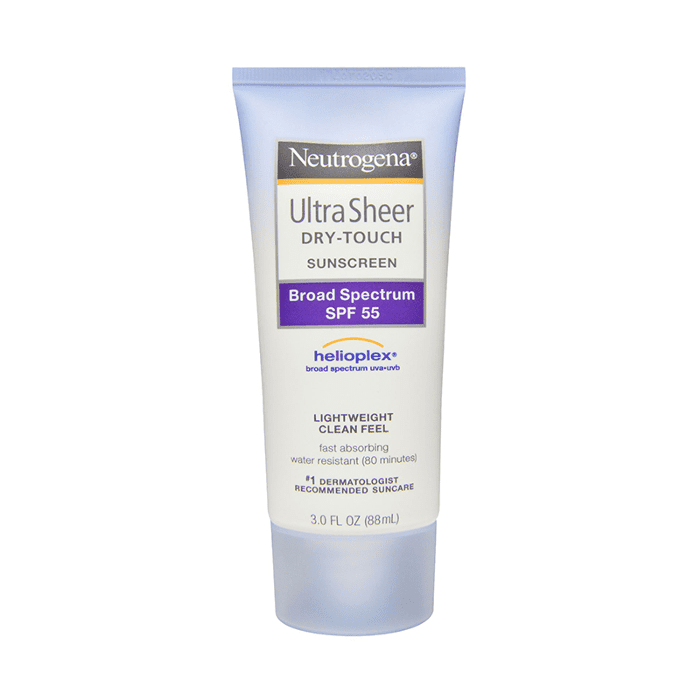 neutrogena sunscreen - how to prevent sunburn