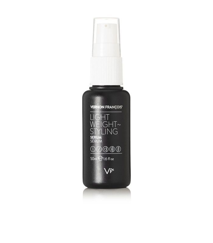 Best street style beauty inspiration: Vernon Francois Lightweight Styling Serum