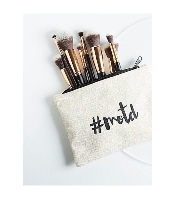 vegan makeup: M.O.T.D Cosmetics Lux Vegan Essential Brush Set