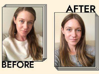 Aveda Scalp Benefits Balancing Shampoo Results on Nicole Kliest