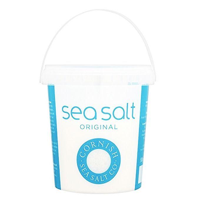 Homemade body scrub: Cornish Sea Salt Original