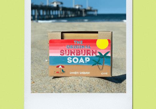 sunburn soap