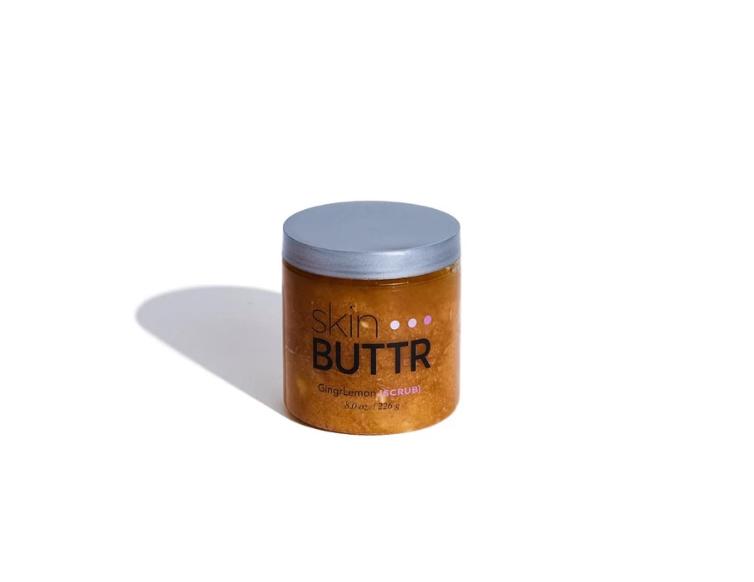 skin BUTTR ginger lemon scrub