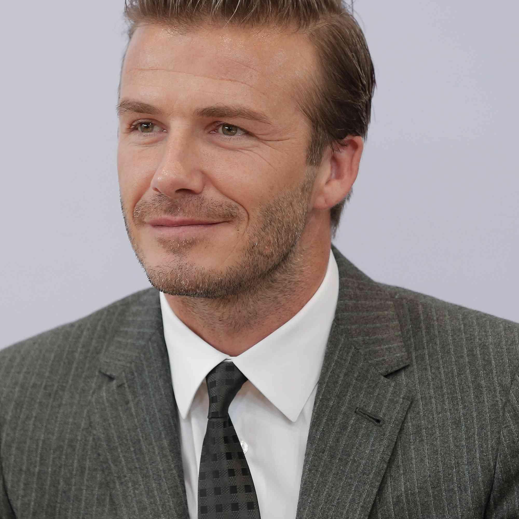 David Beckham Haircuts