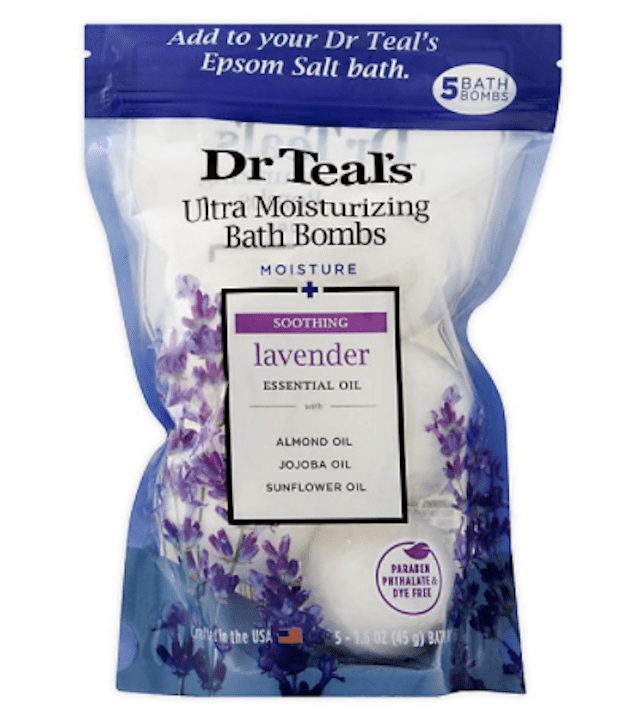 Dr. Teal's® 5-Count Ultra Moisturizing Bath Bombs in Lavender