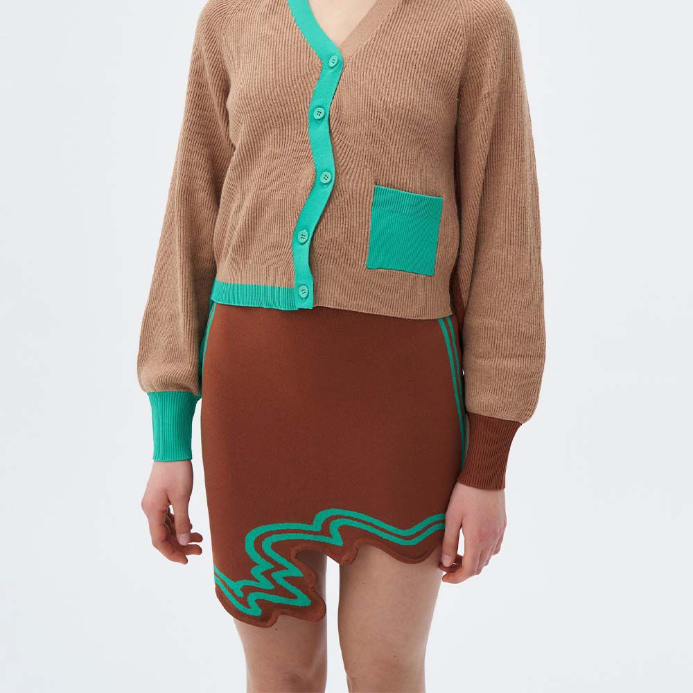 Eilish Signature Wavy Mini Skirt