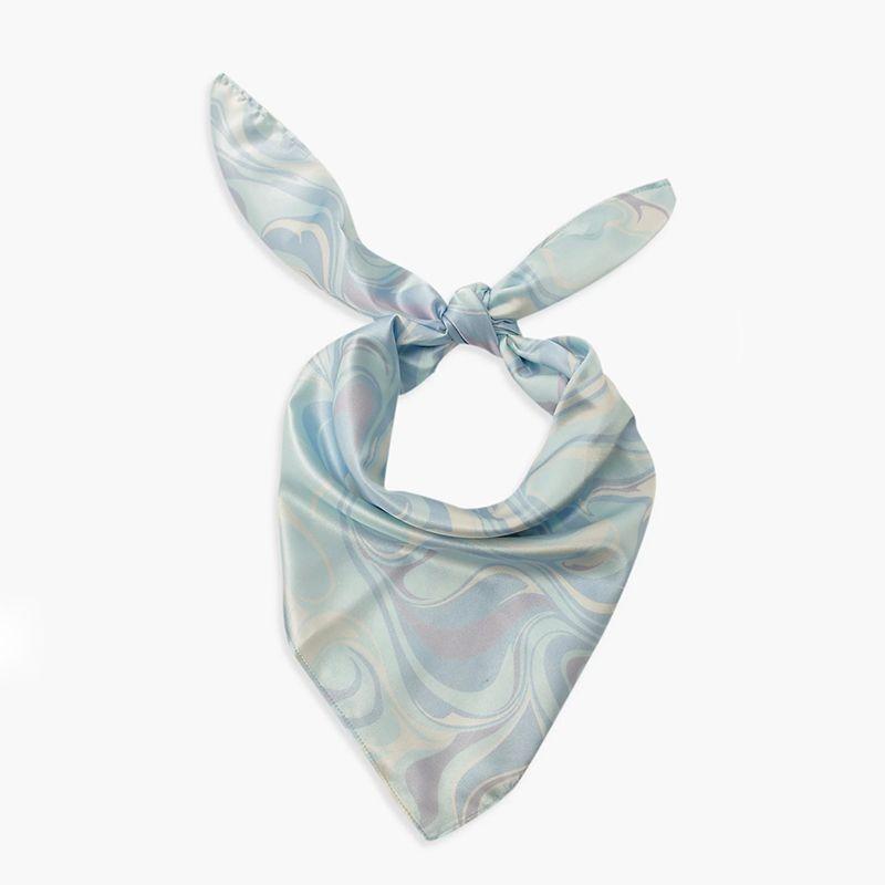 Marble Print Headscarf