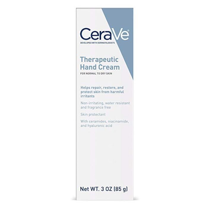 CeraVe Therapeutic Hand Cream with Hyaluronic Acid and Ceramides