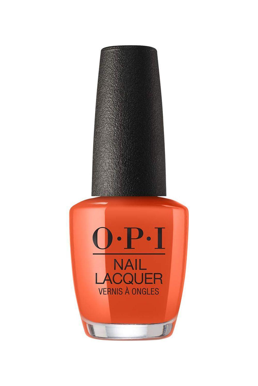 OPI nail polish in shade Suzi needs a loch-smith