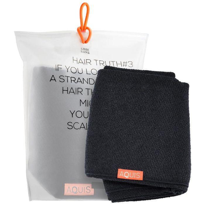 Lisse Luxe Long Hair Towel Stormy Sky