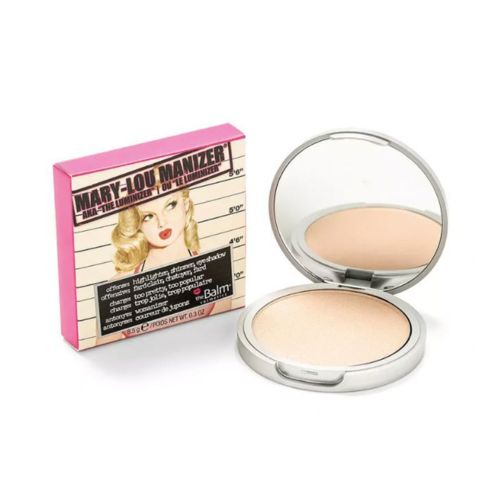 The Balm Mary-Lou Manizer best beauty products 2018: The Balm Mary-Lou Manizer Highlighter, Shadow & ShimmerHighlighter, Shadow & Shimmer